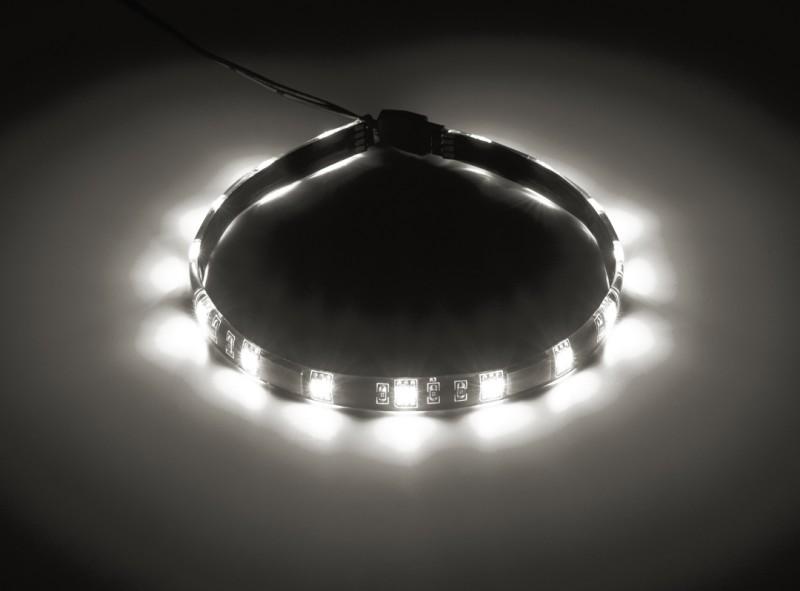 CableMod WideBeam Magnetic LED Strip - 30cm - WHITE (CM-LED-15-M30KW-R)