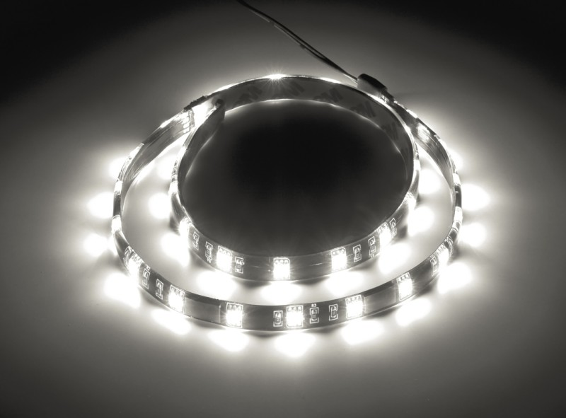 CableMod WideBeam Magnetic LED Strip - 60cm - WHITE (CM-LED-30-M60KW-R)