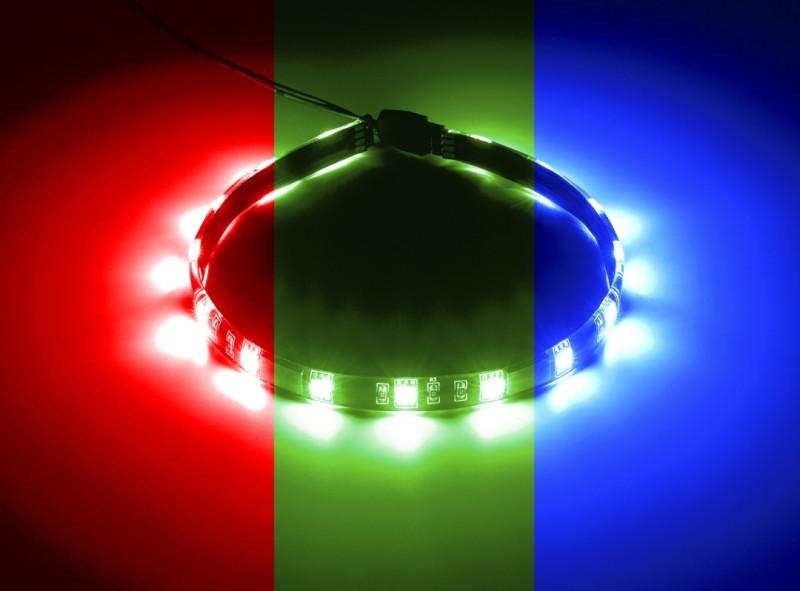 CableMod WideBeam Magnetic RGB LED Strip - 30cm (CM-LED-15-M30KRGB-R)