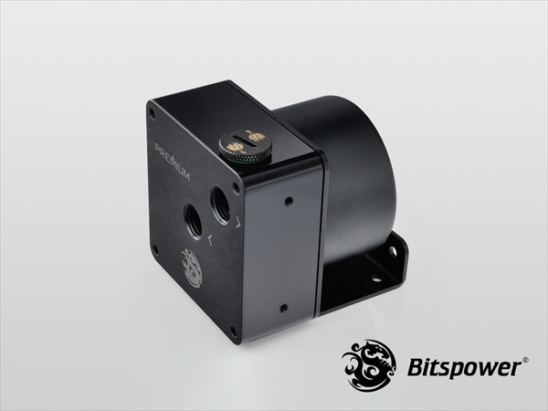 "Bitspower Premium D5 MOD Top G1/4"" (Abrasive Black / POM Version)"