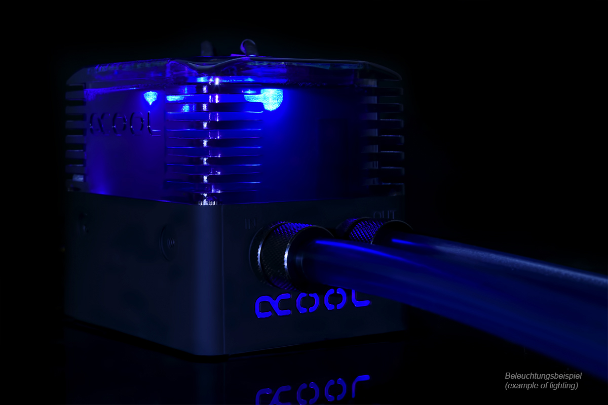 Alphacool Eissturm Gaming Copper 30 2x140mm - complete kit