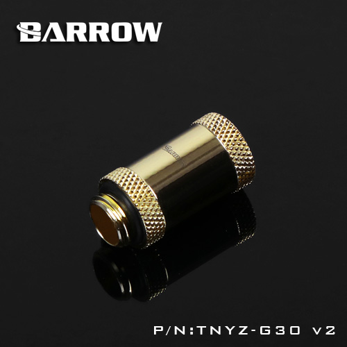 BARROW Male to Female Extender - 30mm Gold