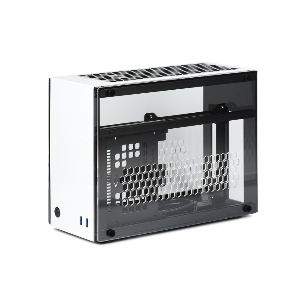 GEEEK A60 PLUS MINI-ITX CASE White