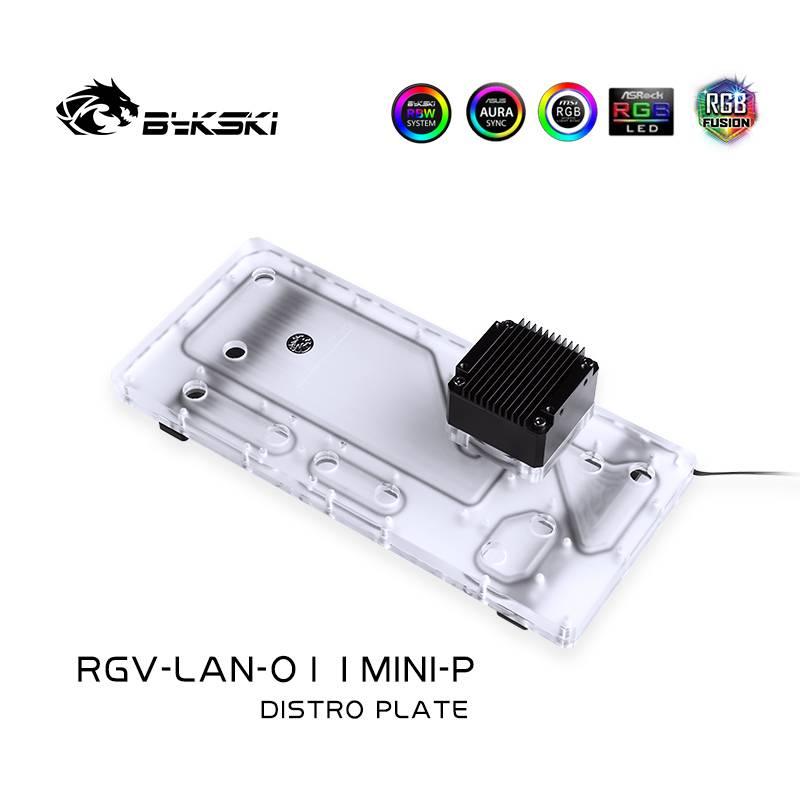 Bykski RGV-LAN-O11MINI-P DISTRO PLATE