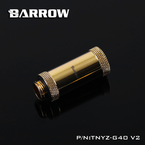 BARROW Male to Female Extender - 40mm Gold