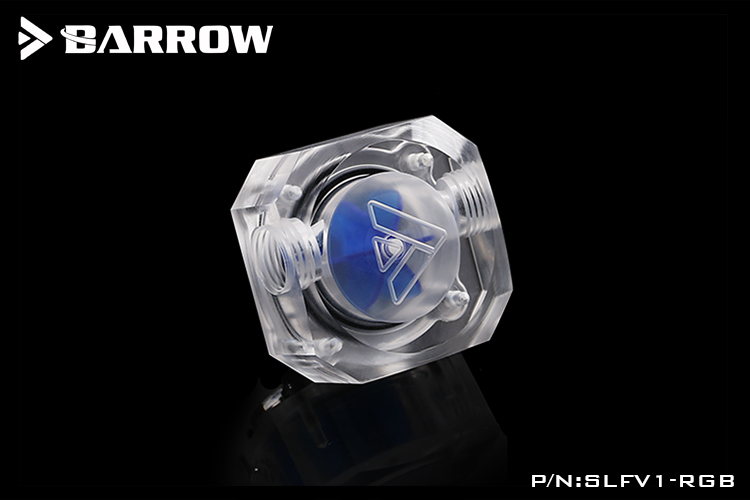 Barrow new type LRC2.0 version Flow Indicator for water cooling system Sapphire Blue