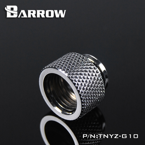 BARROW Male to Female Extender - 10mm Shiny silver