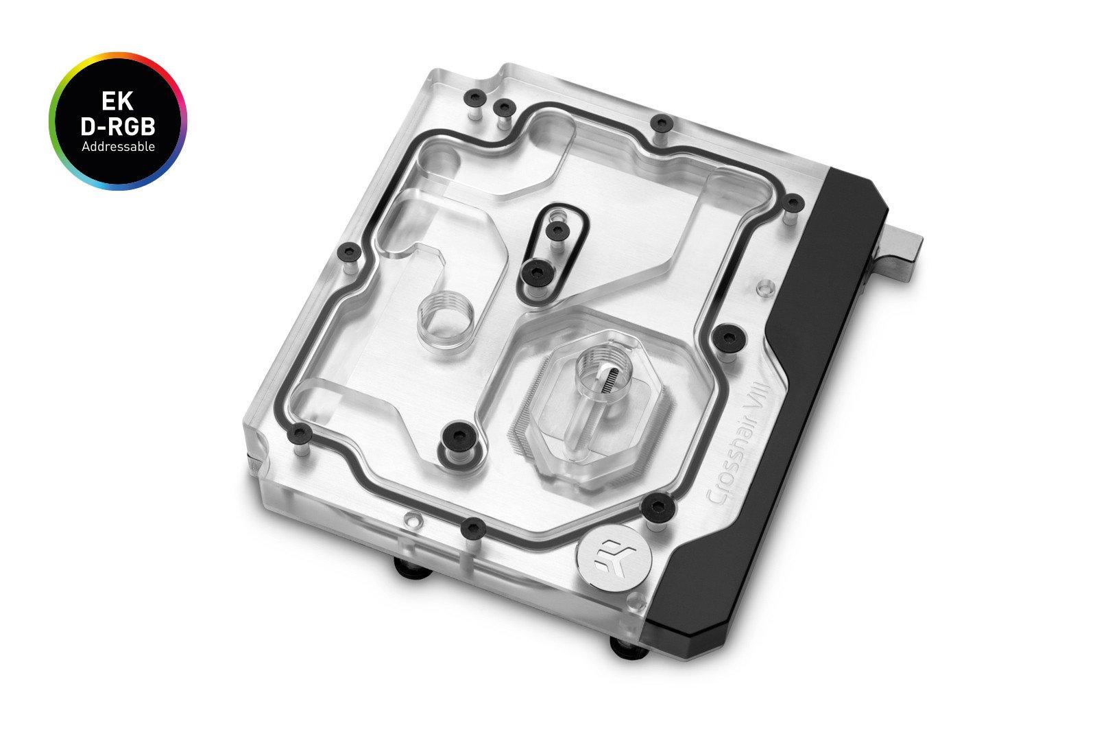 EK WaterBlocks EK-Quantum Momentum ROG Crosshair VIII Hero D-RGB - Plexi
