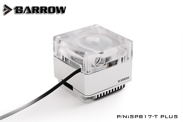 BARROW SPB17-T PLUS Silver PLUS version speed 17w pump kit with special used to waterway plate through hole