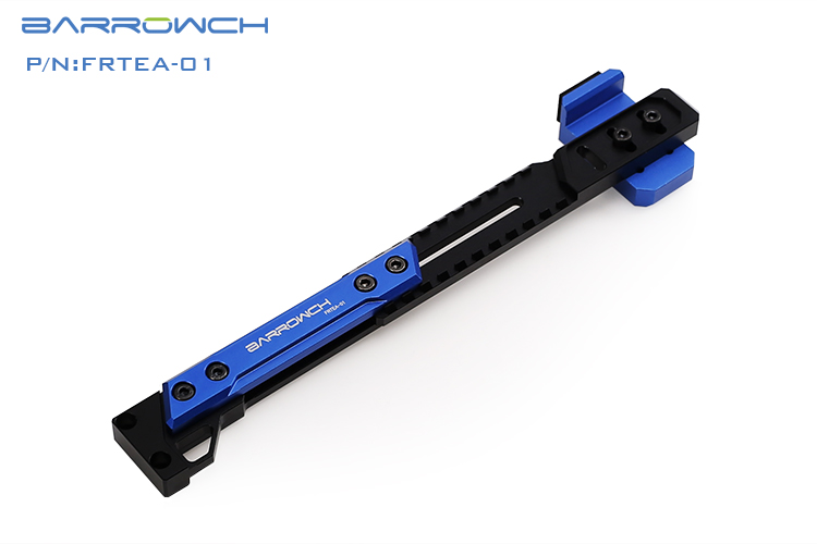 Barrowch independent graphics card bracket adjustable aluminum alloy bracket Graphics card-Mate Blue