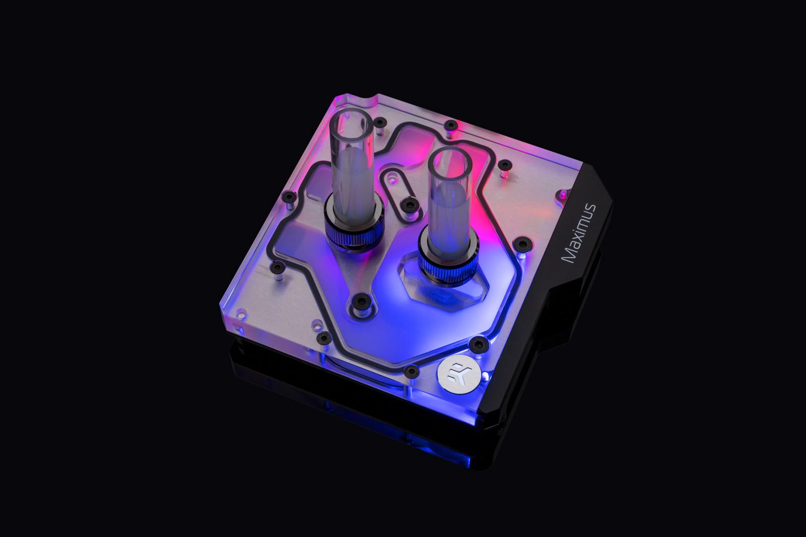 EK WaterBlocks EK-Momentum ROG Maximus XI Hero D-RGB - Plexi