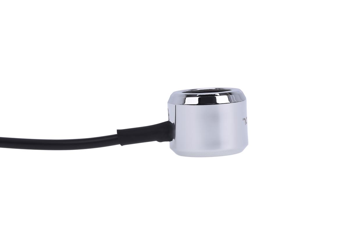 Alphacool Aurora HardTube LED ring 16mm chrome - RGB