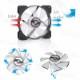 Bykski Aperture Fan LED Glare RBW Symphony 12CM Cooling Fan (B-APRBW-FN-V2)