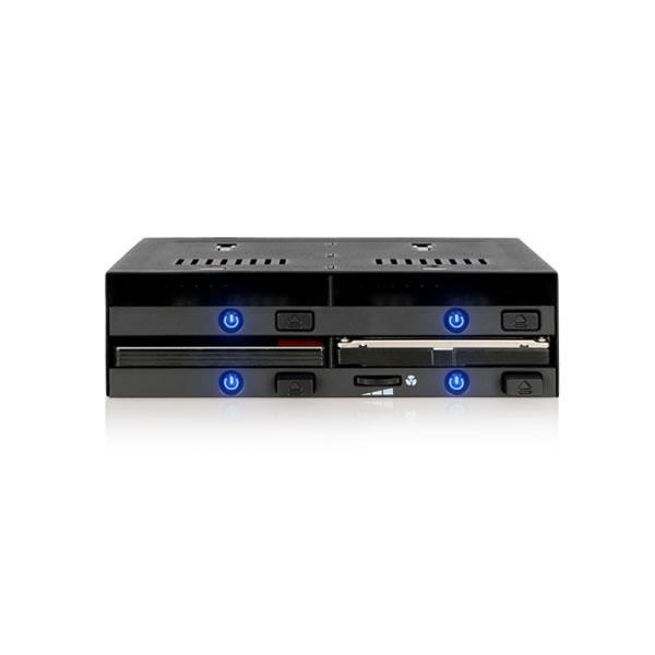 flexiDOCK MB524SP-B 2.5インチHDD4台 5インチドライブベイ用 ICYDOCK
