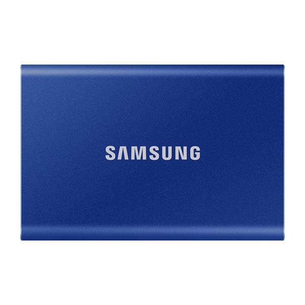 SAMSUNG MU-PC1T0H/IT 1TB Portable SSD T7 インディゴブルー