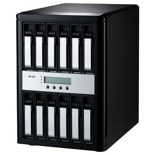 areca ARC-8050T3-12 Thunderbolt3 HDD12台搭載可能