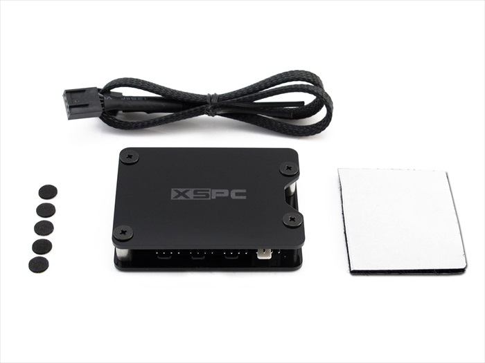 XSPC 8 Way PWM Splitter Hub - SATA Powered