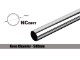 Bitspower None Chamfer Brass Hard Tubing OD16MM Shining Silver - Length 500 MM