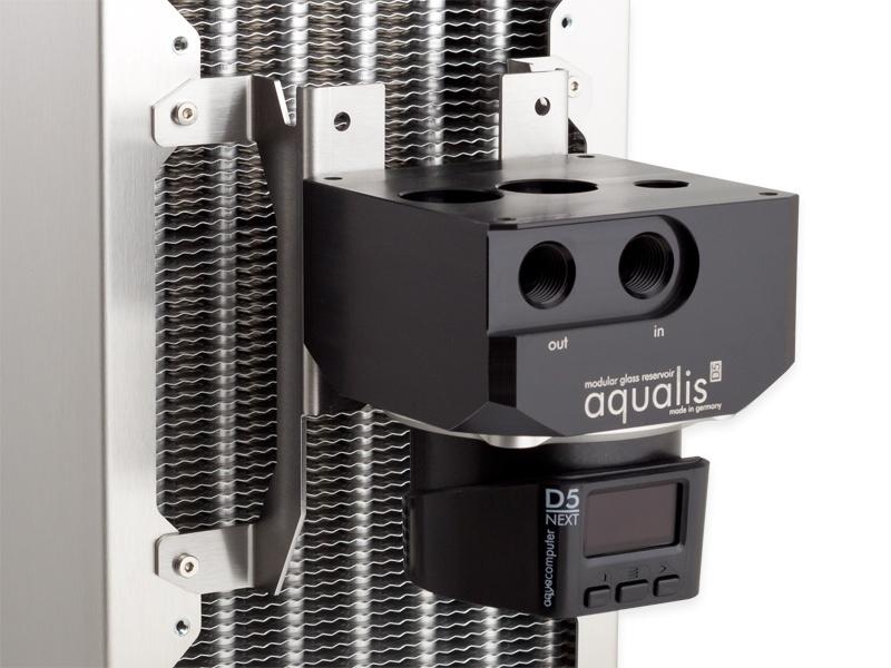 aquacomputer D5 fan mount 120 mm