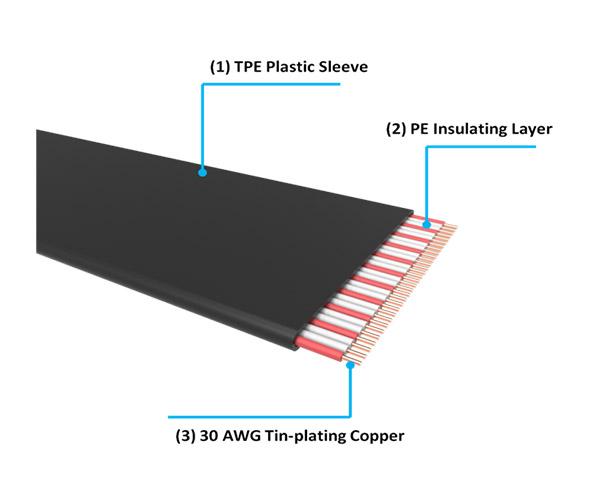 Thermaltake TT Premium PCI Express Extender Cable(300mm) (AC-045-CN1OTN-C1)