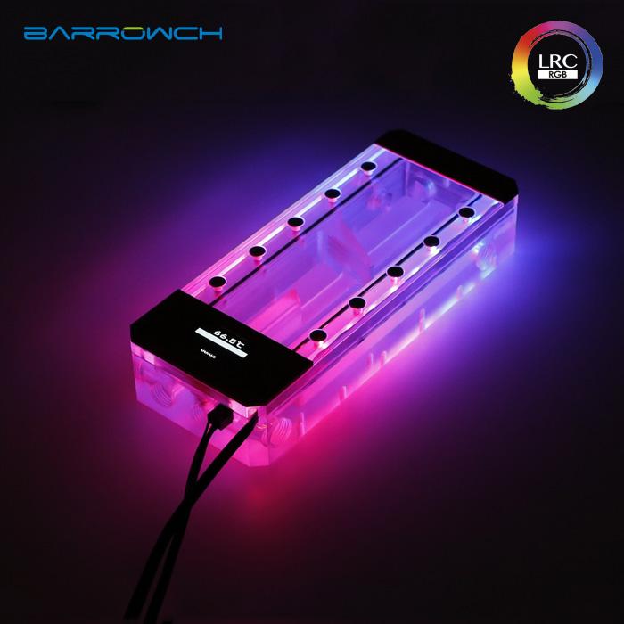 Barrowch boxfish series acrylic square wisdom digital reservoir Classic Black L200
