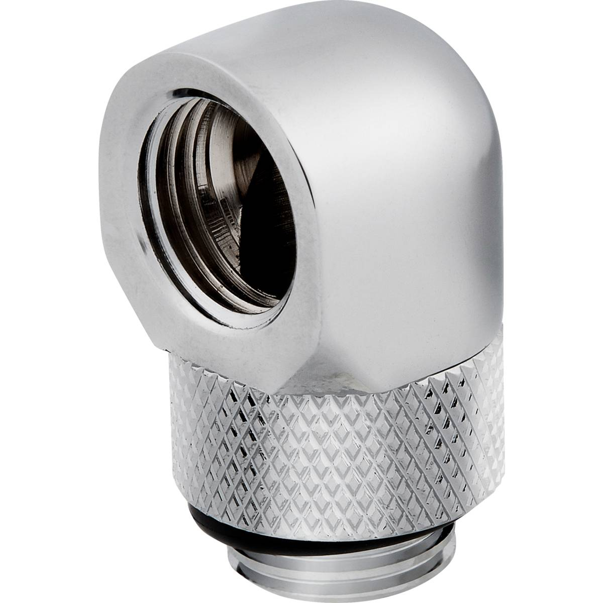 CORSAIR Hydro X Series 90° Rotary Adapter Twin Pack - Chrome