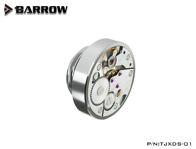 BARROW Time stop hand twist lock Silver