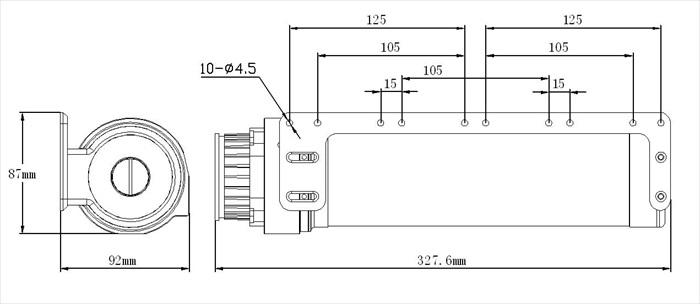 XSPC X4 Photon 270 Reservoir/Pump Combo