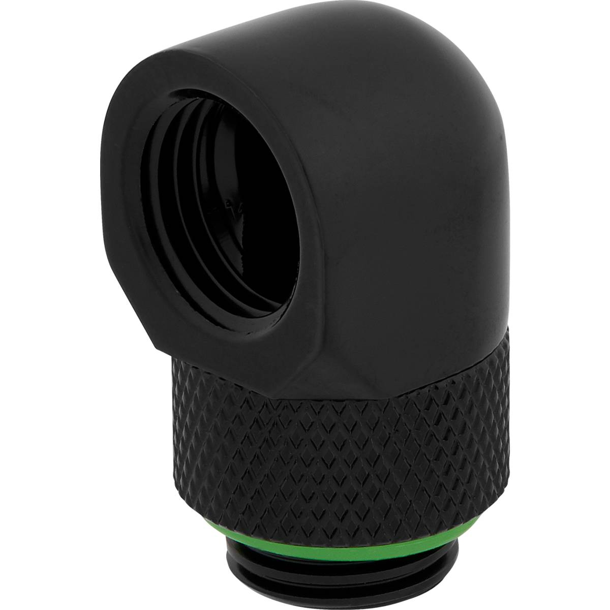 CORSAIR Hydro X Series 90° Rotary Adapter Twin Pack - Black