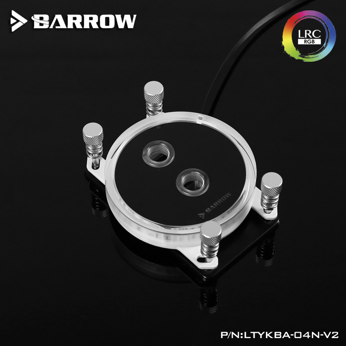 BARROW AM4 platform jet type microchannel CPU water cooling head Rays Edition
