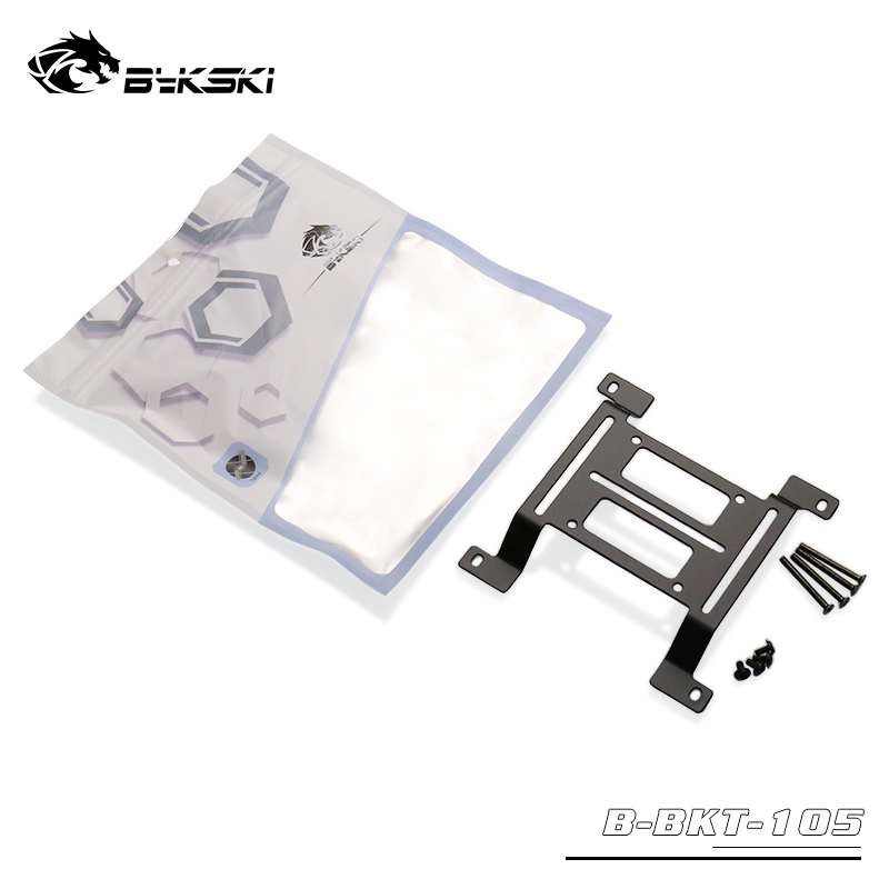 Bykski 120mm Raised Multi Function Water Cooling Bracket - Black