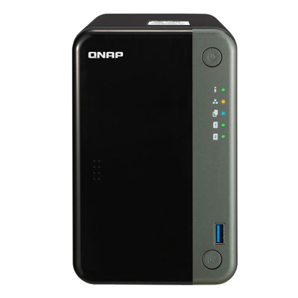 QNAP TS-253D-4G HDD 2台搭載可能