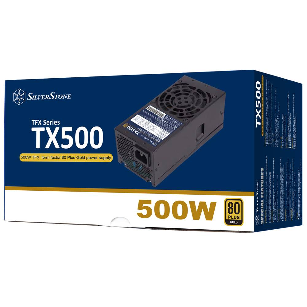 【取寄せ商品:要納期確認】 SilverStone TX500 Gold (SST-TX500-G)