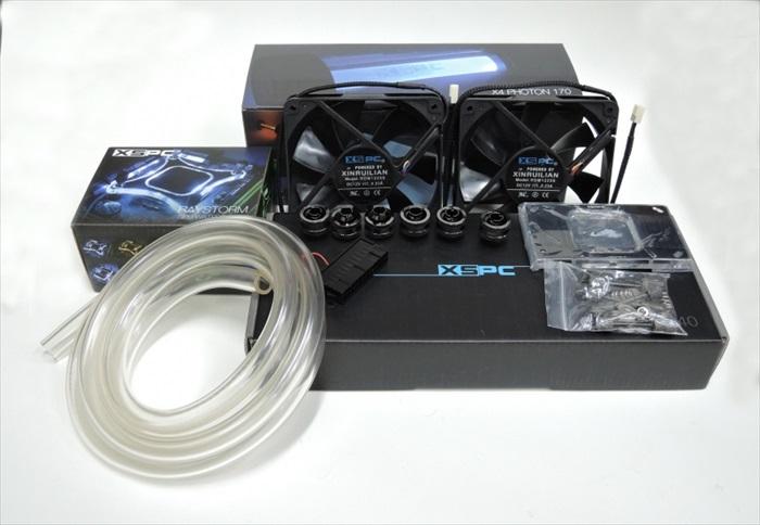 XSPC RayStorm X4 EX240 WaterCooling Kit
