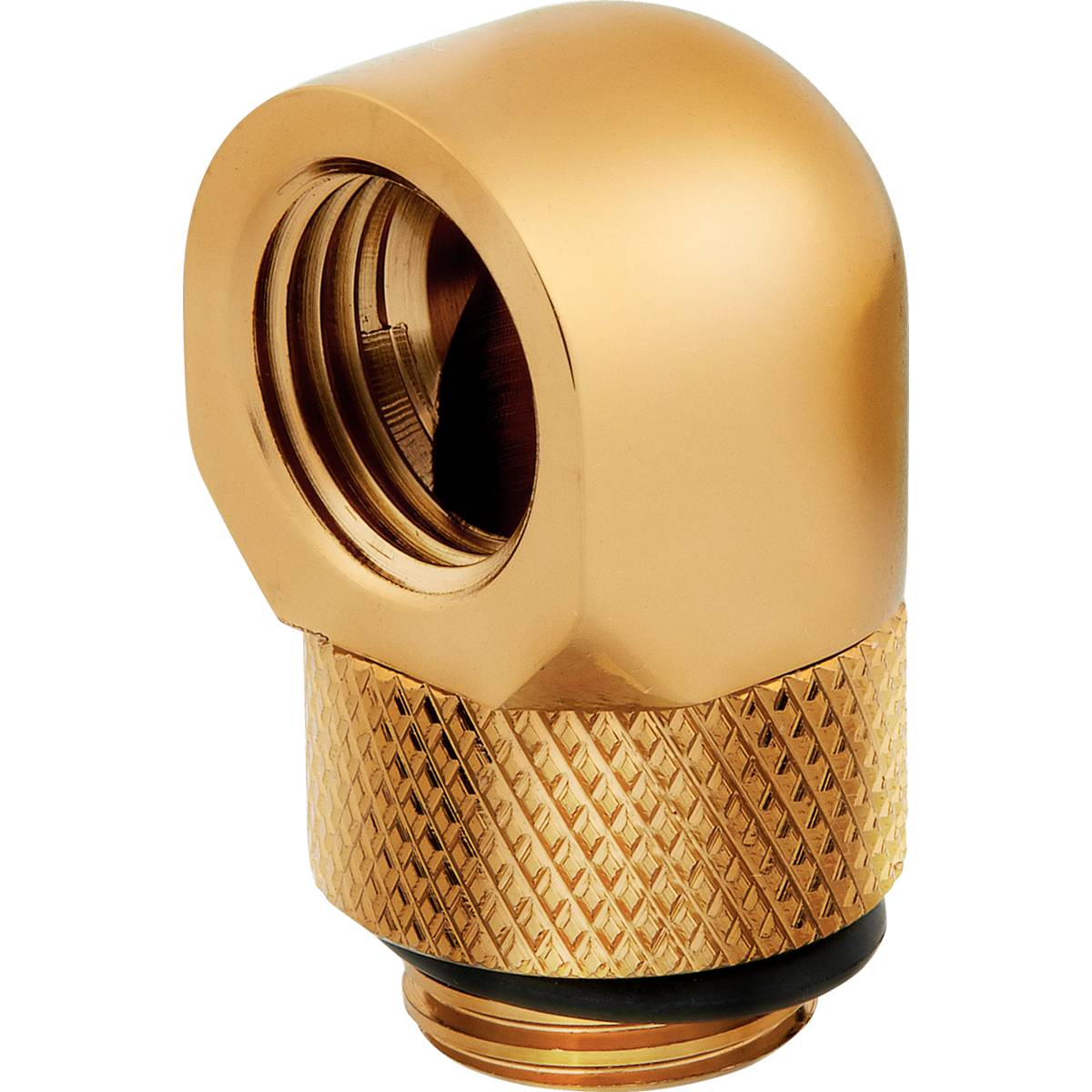 CORSAIR Hydro X Series 90° Rotary Adapter Twin Pack - Gold