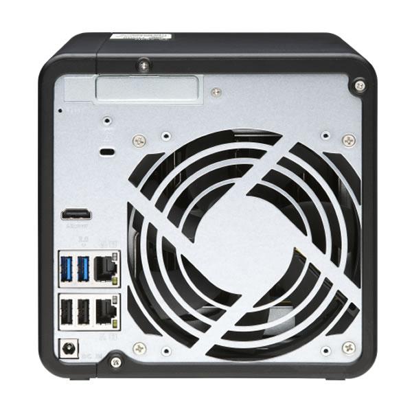 QNAP TS-453D-4G HDD 4台搭載可能