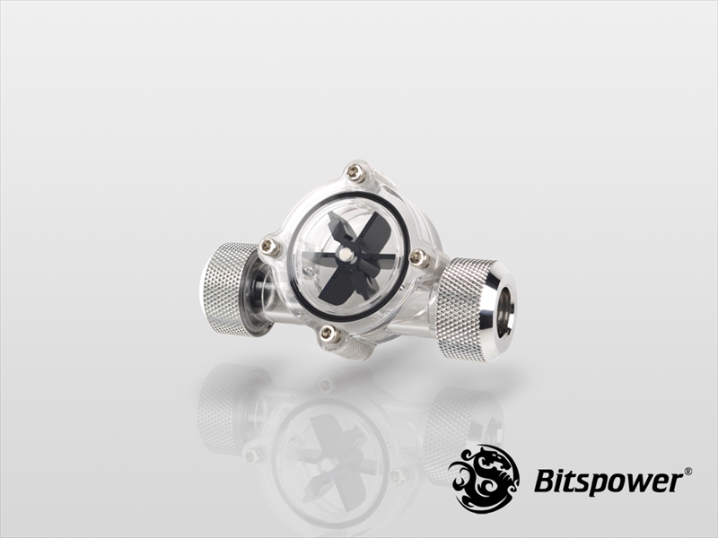 Bitspower Flow Indicator (Silver)