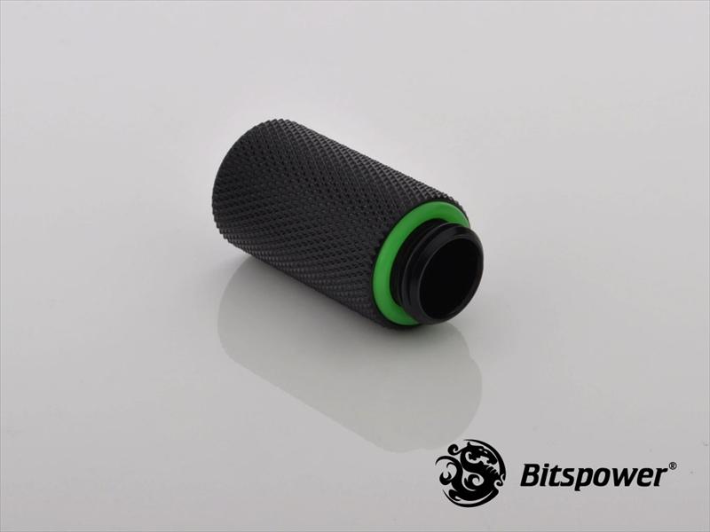 "Bitspower G1/4"" Matt Black IG1/4"" Extender-30MM"