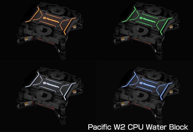 Thermaltake Pacific W2/DIY LCS/Cupper/Water Block(CL-W027-CU00BL-A)