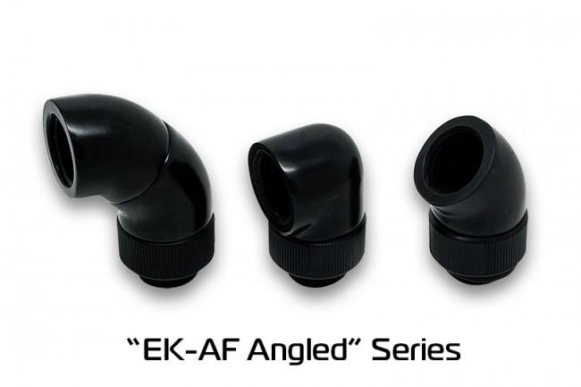 EK WaterBlocks EK-AF Angled 90° G1/4 Black