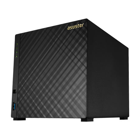 ASUSTOR AS3204T 3.5インチ HDD 4台搭載可能