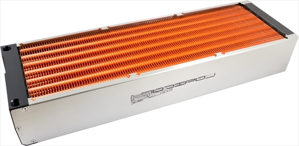 aquacomputer airplex radical 4/420, copper fins
