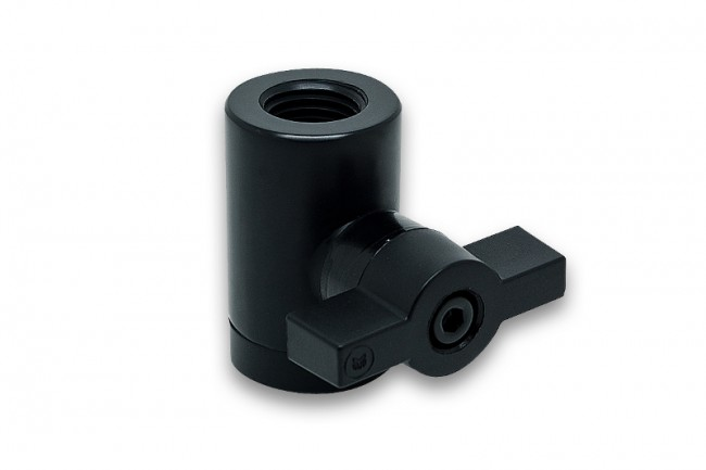EK WaterBlocks EK-AF Ball Valve (10mm) G1/4 - Black