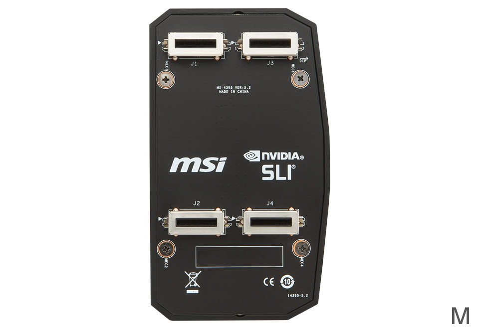 MSI 2WAY SLI HB BRIDGE M