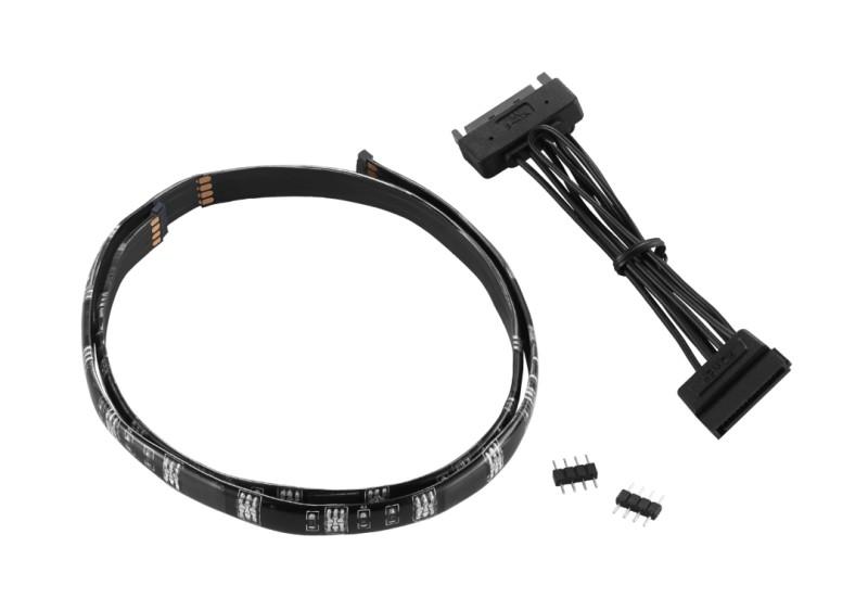 CableMod WideBeam Magnetic LED Strip - 60cm - RED (CM-LED-30-M60KR-R)