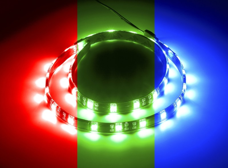 CableMod WideBeam Magnetic RGB LED Kit - 60cm (CM-LED-30-M60KRGB-RK)