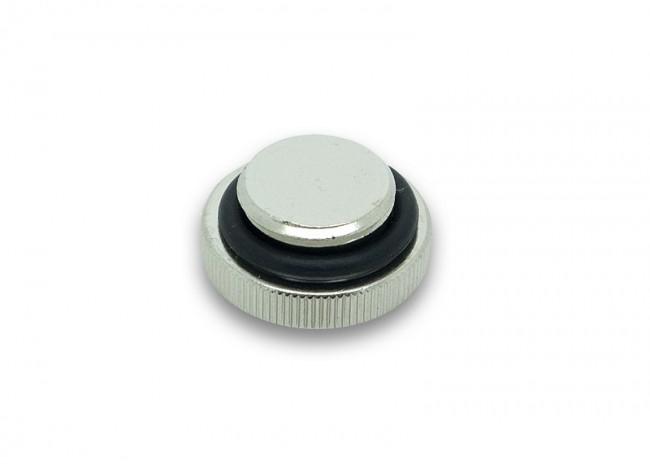 EK Water Blocks EK-CSQ Plug G1/4 (for EK-Badge) - Nickel