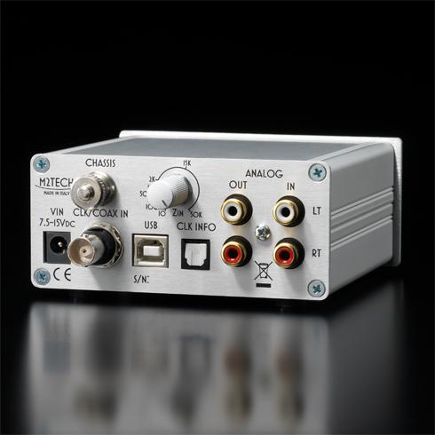 M2TECH Evo PhonoDAC Two A/D&D/A Converter Phono Preamplifier