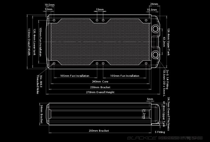 Hardware Labs BLACK ICE NEMESIS GTR 240