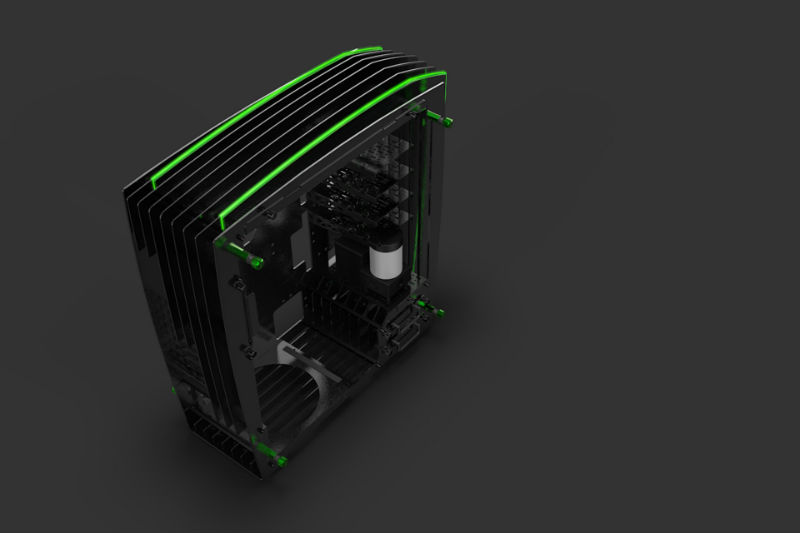 IN WIN H-FRAME 2.0 Green